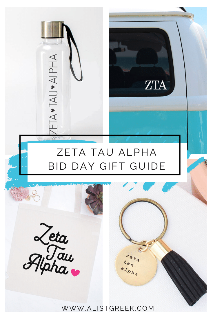 Zeta Tau Alpha Bid Day Gift Guide Blog Feature Image