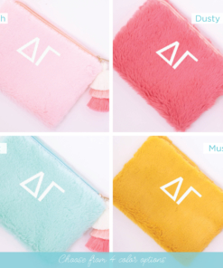 4 color options teddy bear bag delta gamma