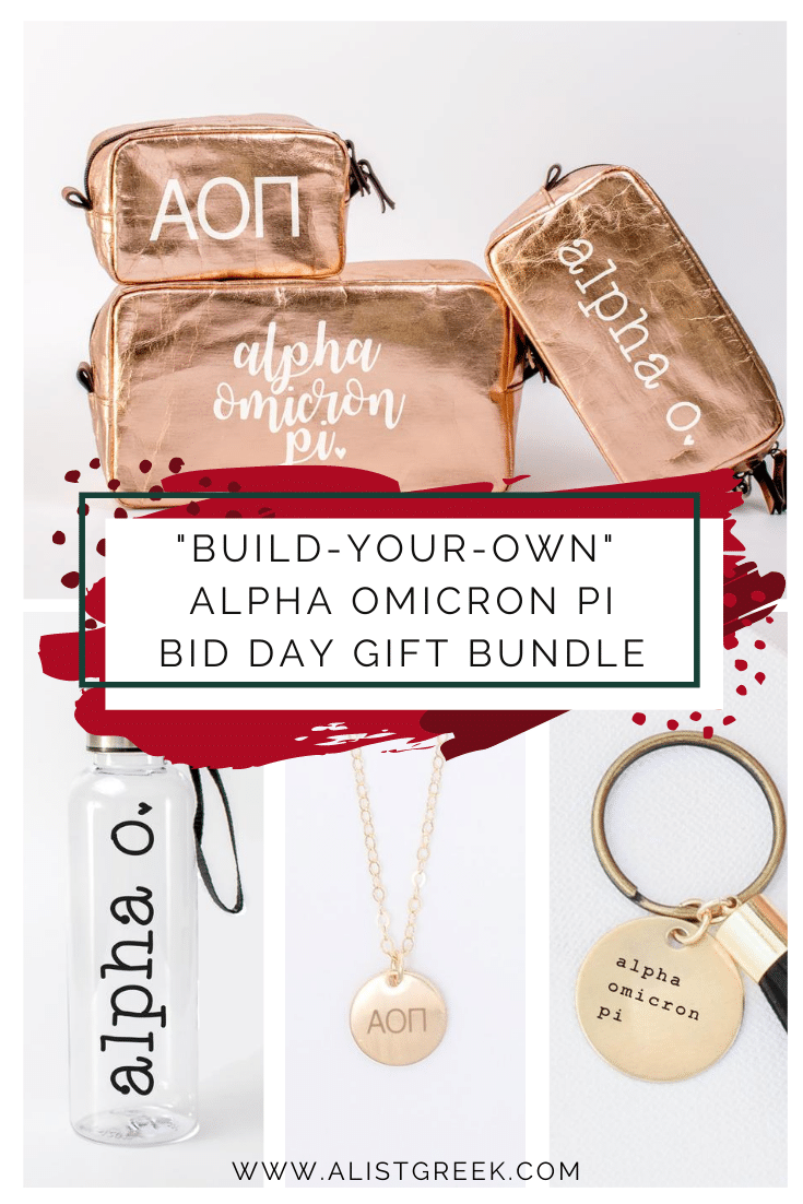 Alpha Omicron Pi Bid Day Gift Bundle Blog Feature Image
