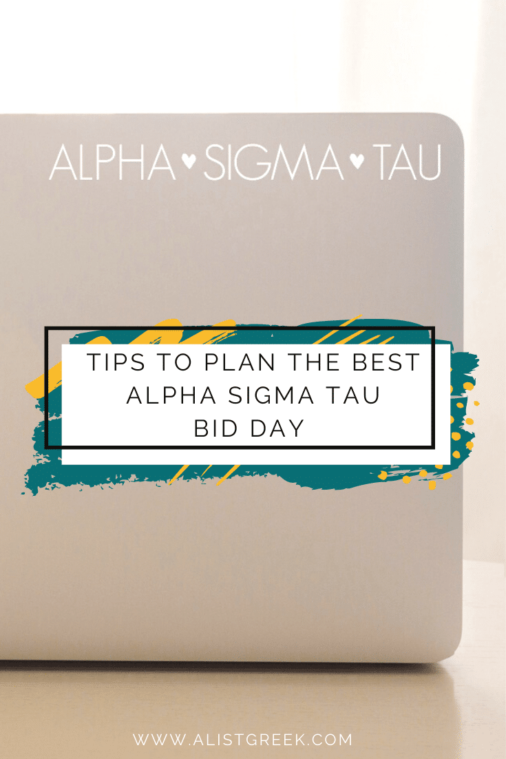 Plan the best Alpha Sigma Tau Bid Day Blog Feature Image