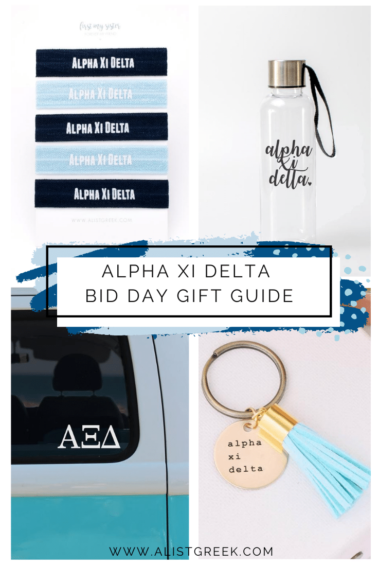 Alpha Xi Delta Bid Day Gift Guide Blog Feature Image