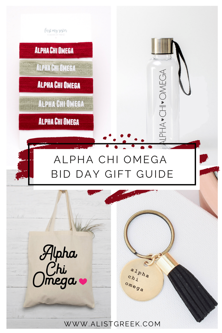 Alpha Chi Omega Bid Day Gift Guide Blog Feature Image