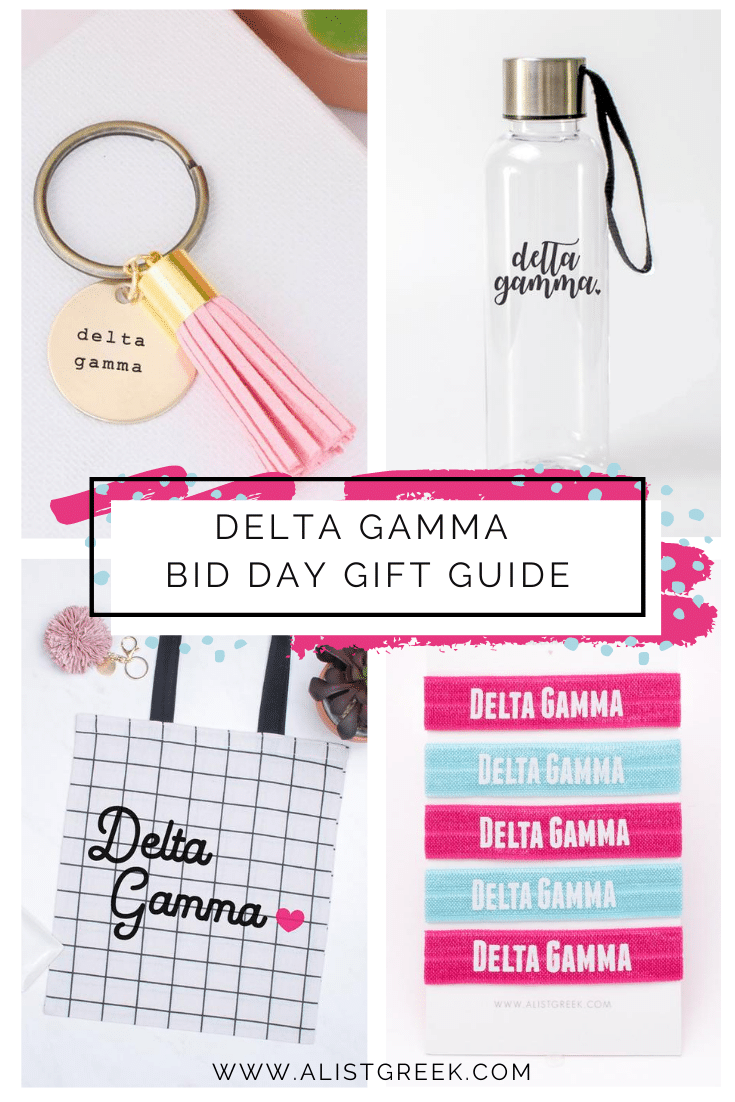 Delta Gamma Bid Day Gift Guide Blog Feature Image