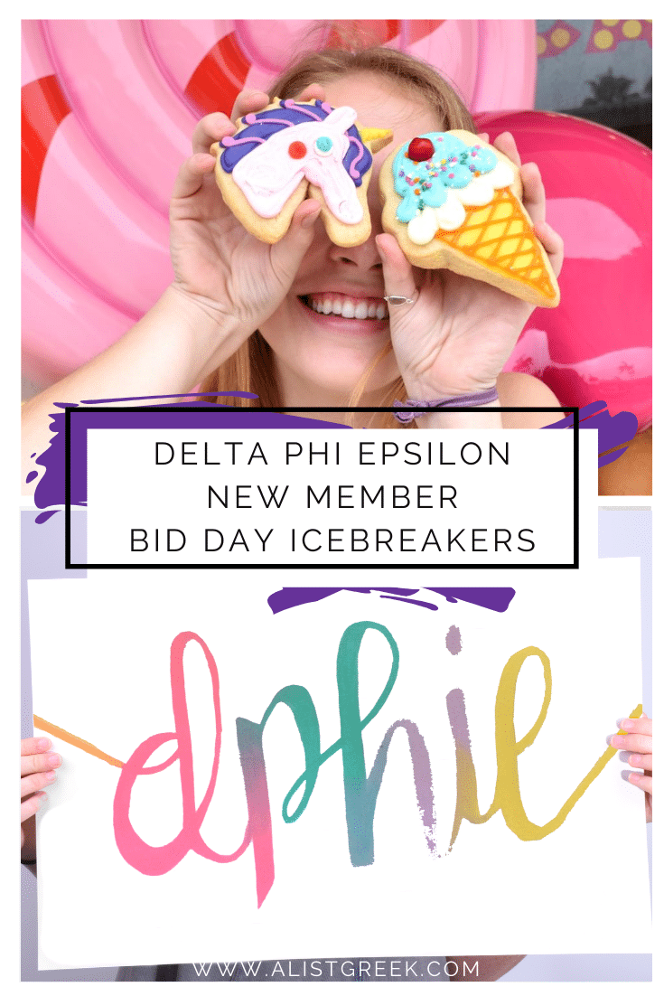 Delta Phi Epsilon Bid Day Icebreakers Blog Feature Image