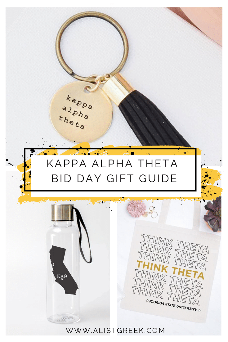 Kappa Alpha Theta Bid Day Gift Guide Blog Feature Image