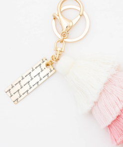 Sunset-Fiesta-Tassel-Keychain-Chi-Omega-MorningDew-Closeup