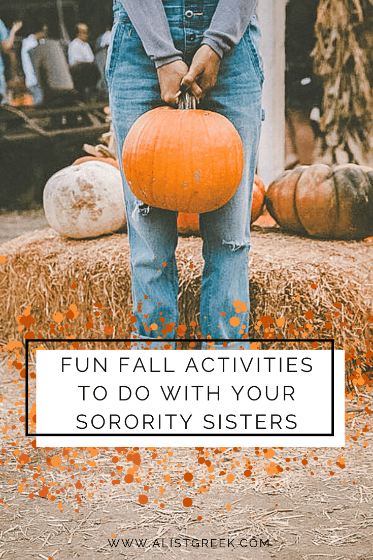 Fun Fall Activities to do with your sorority sisters blog feature image