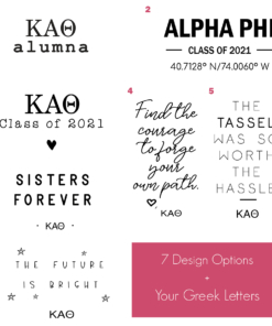 Sorority Class of 2021 Compilation for Sorority Alumna Gallery